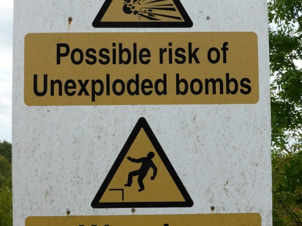 An unusual warning!